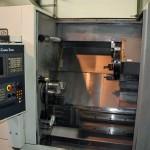 Drehmaschine für kleinere Durchmesser inkl. angetriebener Werkzeuge